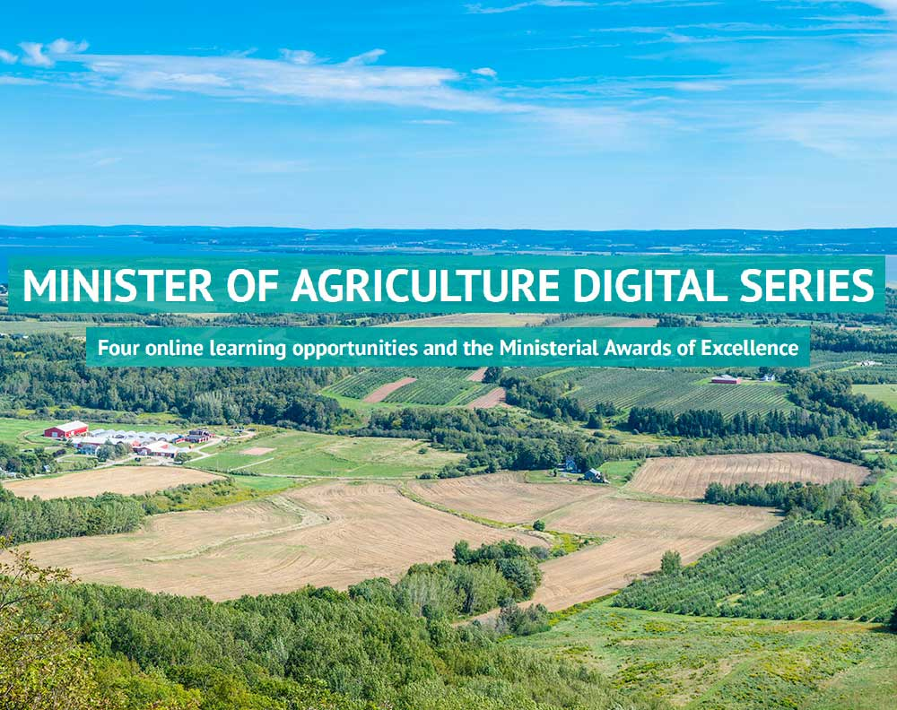 Minister of Agriculture Digital Series