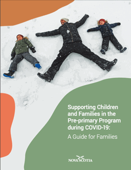 document cover: Pre-Primary Program: guide for families