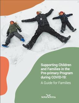 image: Programme de prématernelle : Guide pour les familles