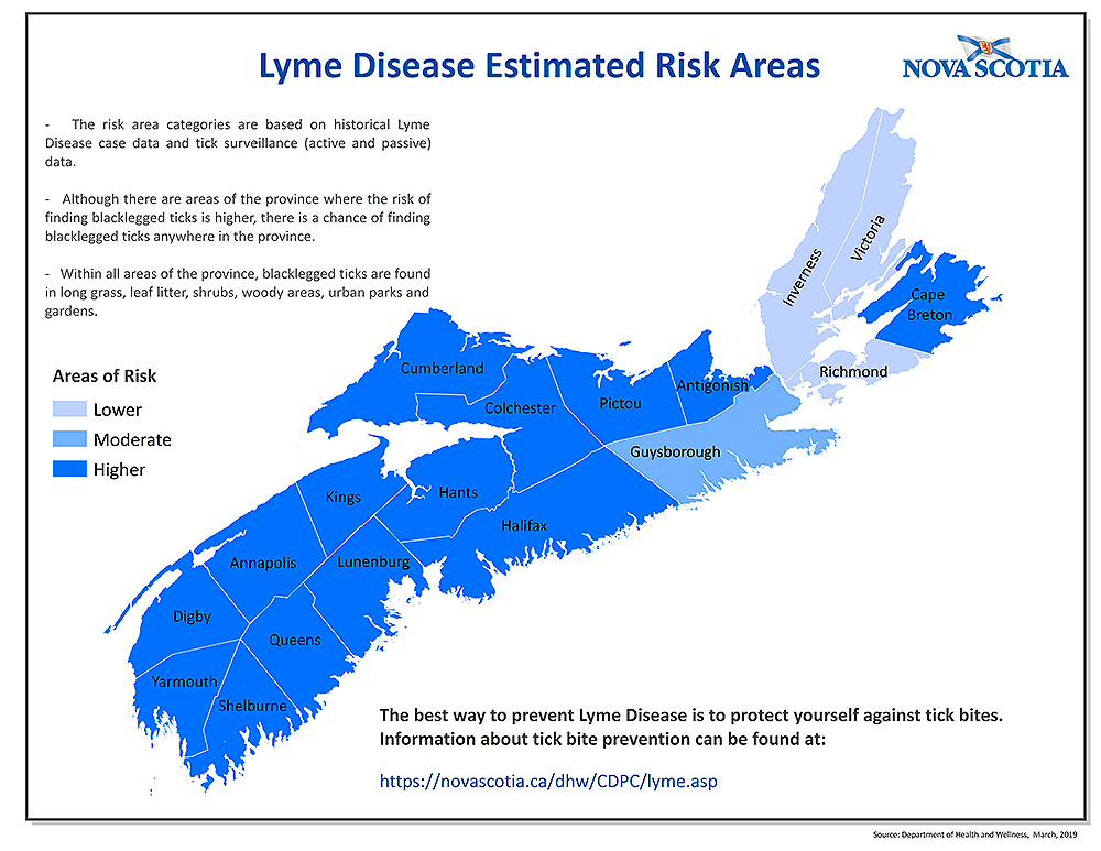 Communicable Diseases - Lyme Disease | novascotia ca
