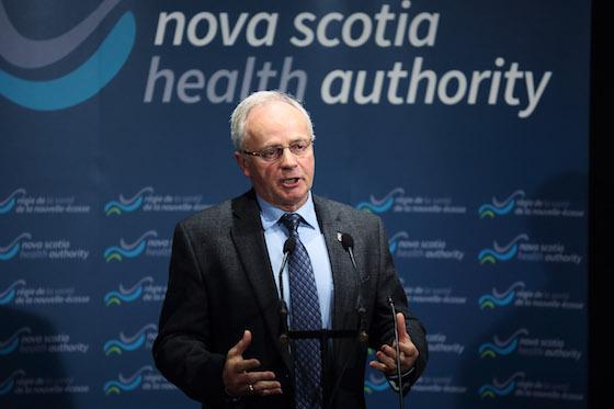 Health and Wellness Minister Leo Glavine
