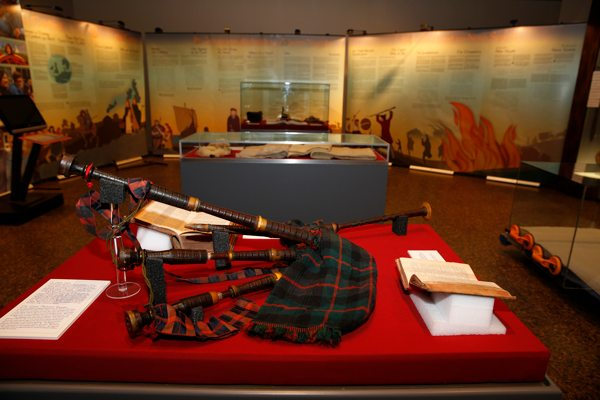 An exhibit that tells the history of Gaelic life in Nova Scotia is open at the McCulloch House Museum and Heritage Centre in Pictou until Sept. 5.