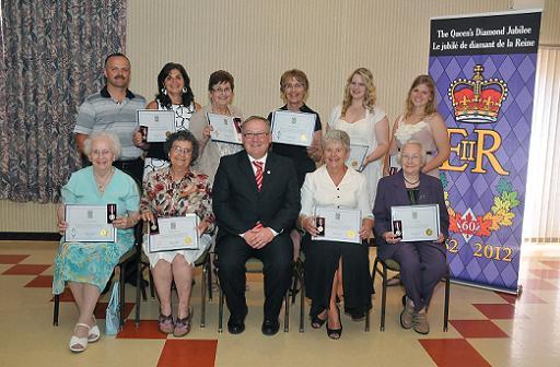 Diamond Jubilee Medal Presentations Novascotia Ca