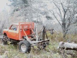 Homemade truck tractor