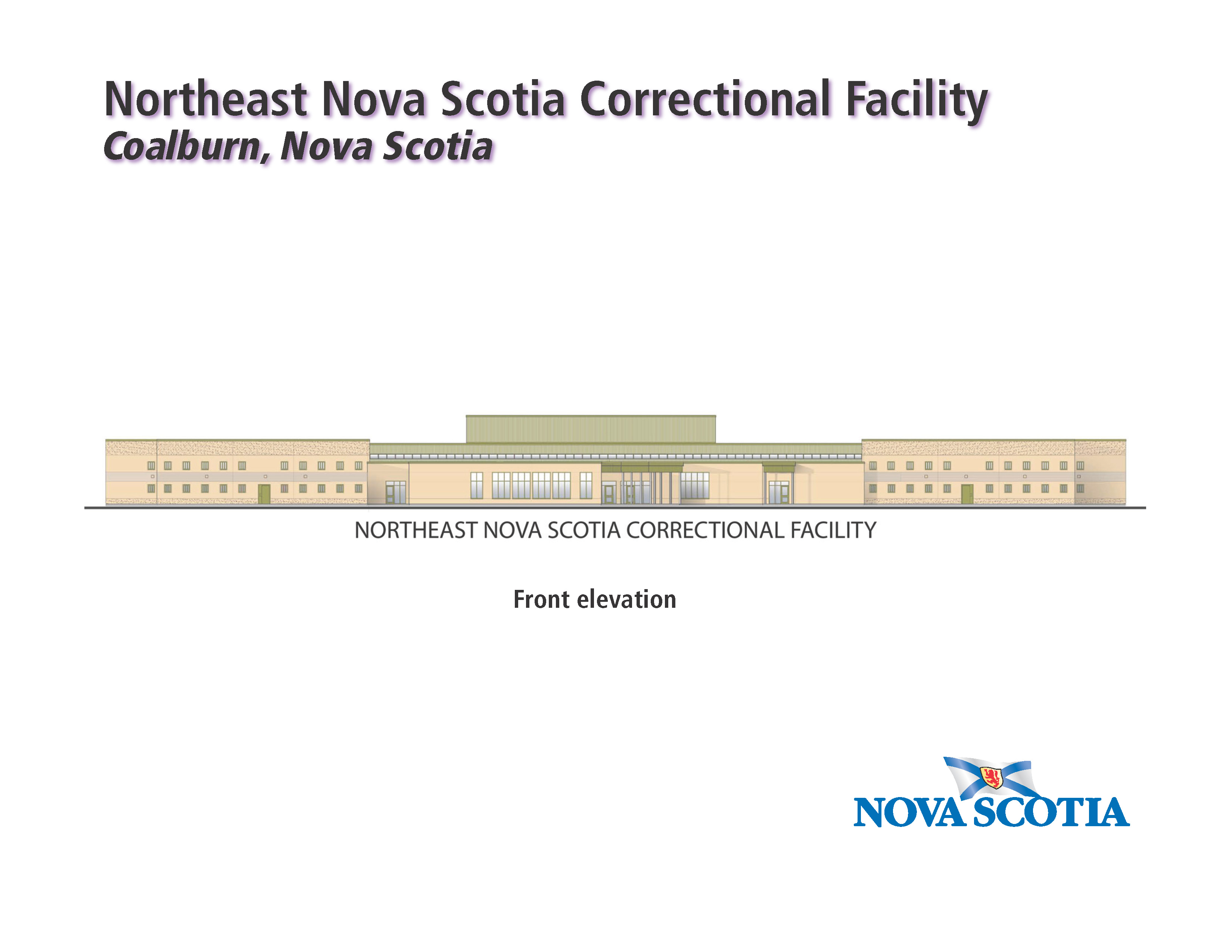 New correctional facility will save millions novascotia artiststs sketch of the new correctional centre aiddatafo Gallery