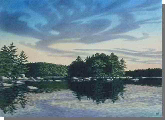 Cloud Lake Wilderness Area Protected Areas Nova Scotia
