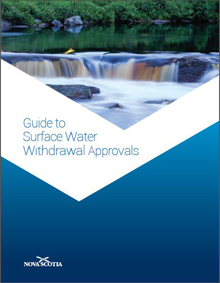 PDF: Guide to Surface Water Withdrawal Approvals