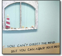 You can't direct the wind, but you can adjust your sails.
