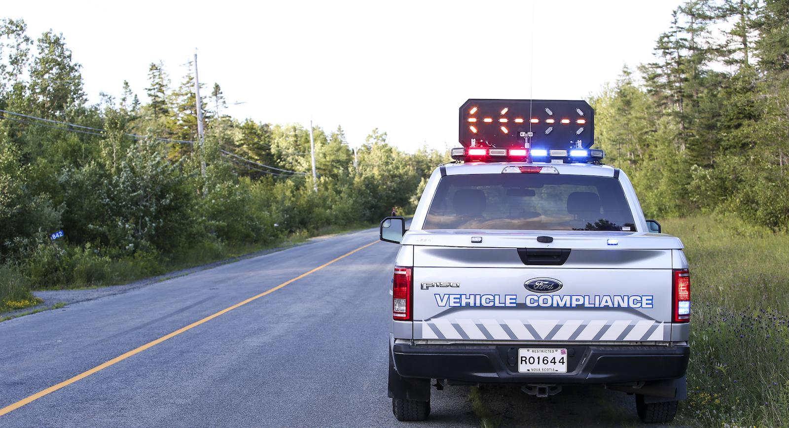 Slow down, move over - Government of Nova Scotia, Canada