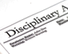 Alcohol and Gaming: Disciplinary Notices
