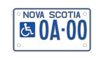 Accessible Parking Plates for Motorcycles