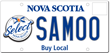 Buy Local licence plate