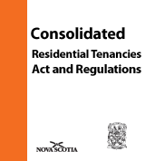 Consolidated Residential Tenancies Act and Regulations