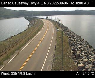 Webcam for Canso Causeway