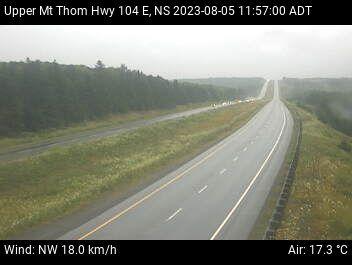 Upper Mt Thom, Hwy 104 / Nova Scotia / Canada