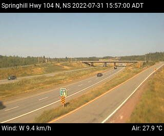 Springhil (Exit 5, Hwy 104) webcam