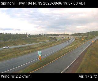 Highway webcam